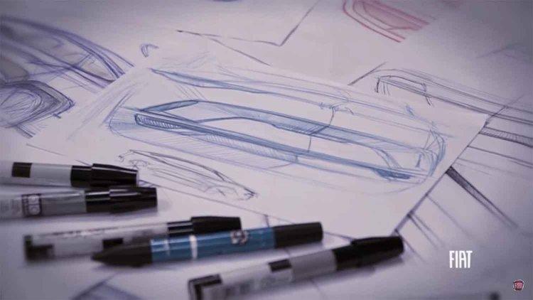 Fiat Toro Suv Concept Sketch