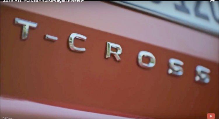 VW T-Cross Badge