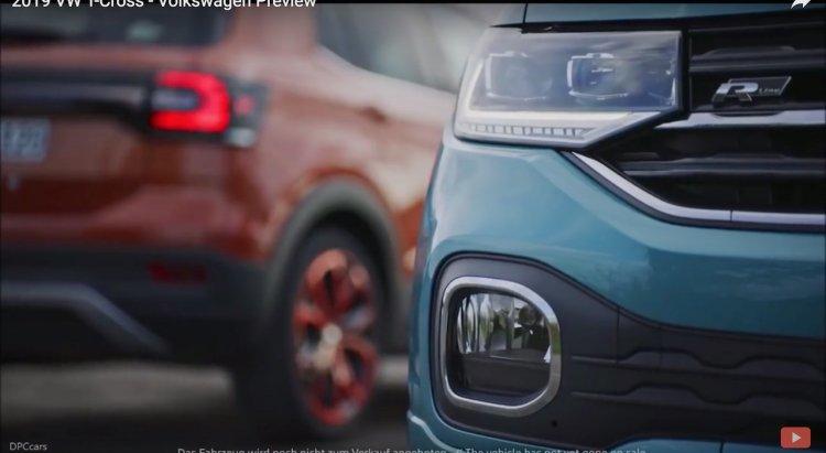 VW T Cross R Line Teaser