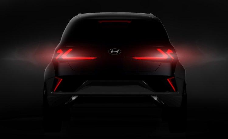 Hyundai Saga Ev Suv Concept Rear Teaser