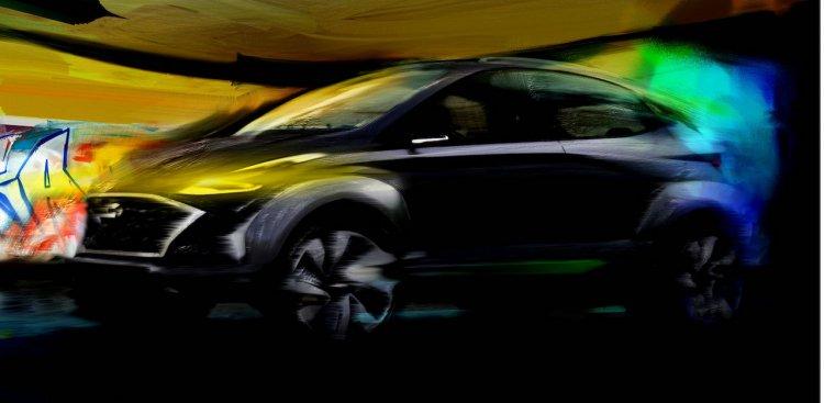 Hyundai Saga Ev Suv Concept Teaser
