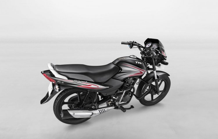 TVS Sport Special Edition Launched In India Right Rear Quarter
