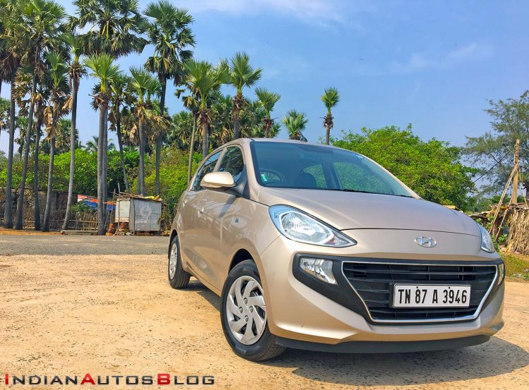 2018 Hyundai Santro Review Images Front Side Profi