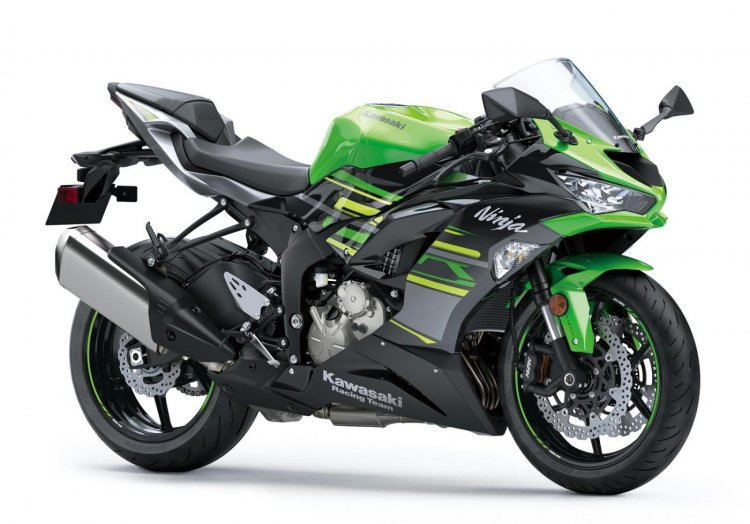 Kawasaki Ninja Zx 6r Front Right Quarter