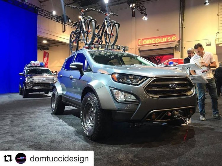 Modified Ford Ecosport Tucci Hot Rods Images Front three quarters