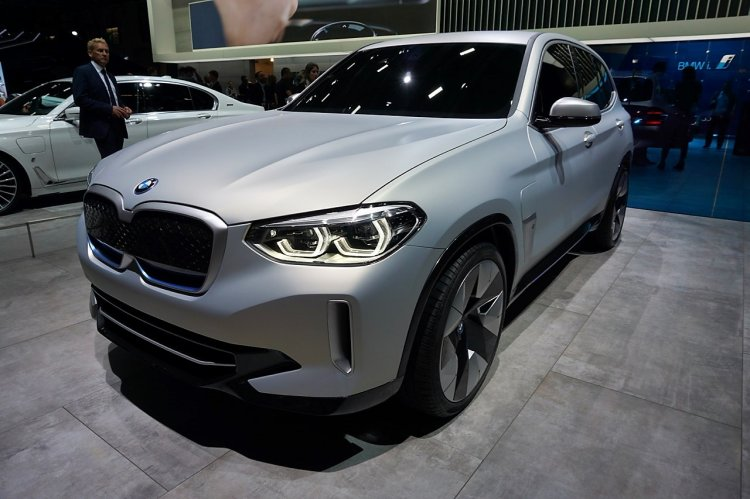 Bmw Concept Ix3 Front Quarters At 2018 Paris Auto