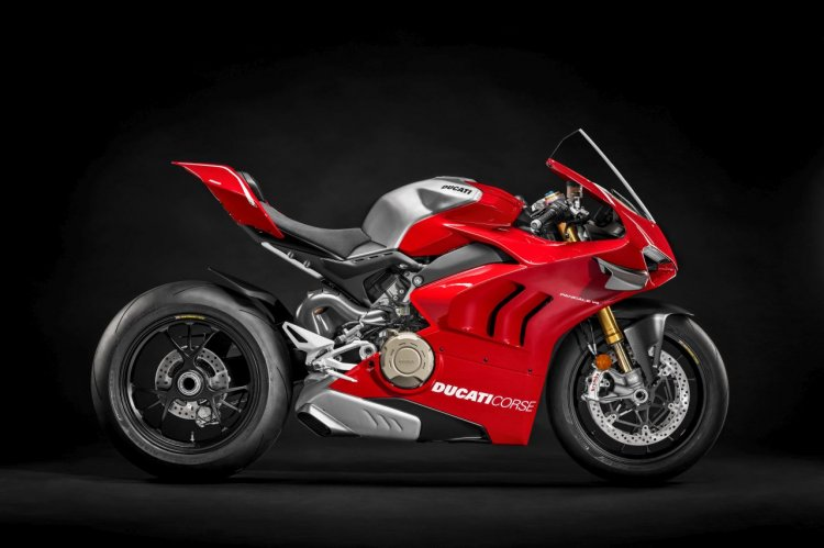 2019 Ducati Panigale V4 R Studio Shots Right Side