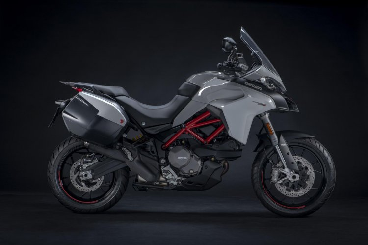 Ducati Multistrada 950 S Side Profile