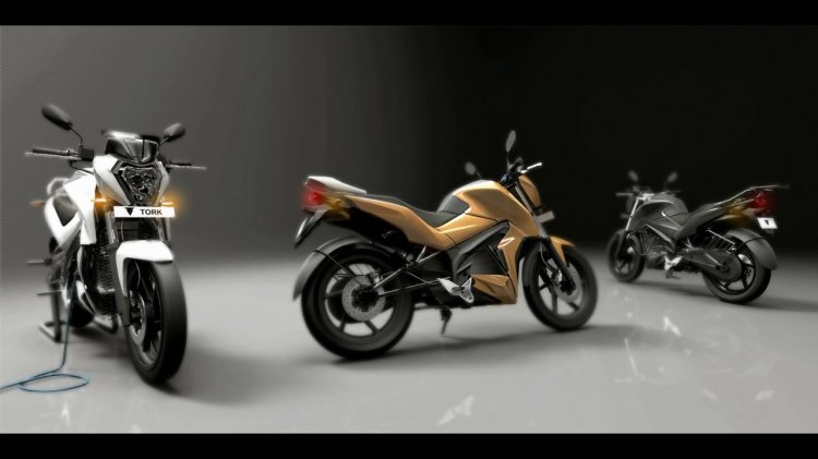 The Tork T6x Electric Motorcycle