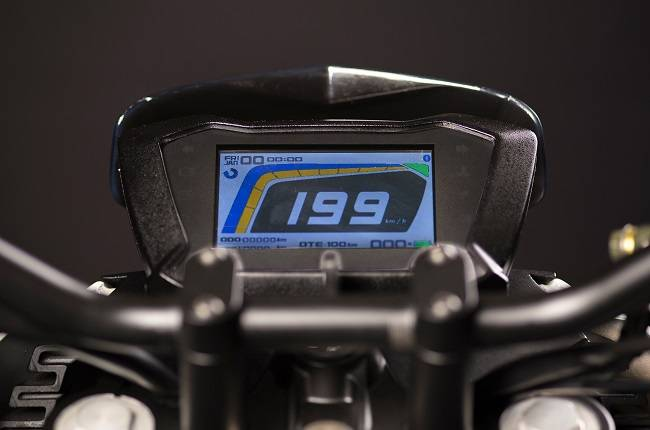 Tork T6x Electric Motorcycle Digital Instrument Cl