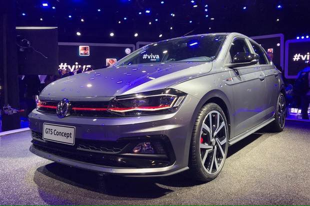 Vw Virtus Gts Concept Images Front Three Quarters