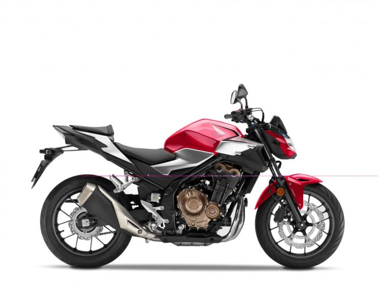 2019 Honda Cb500f Press Images Studio Shots Red Ri