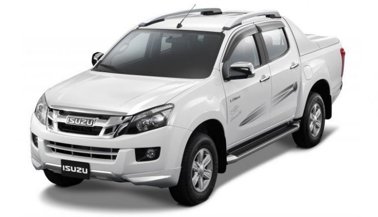 Isuzu D-Max V-Cross Jonty Rhodes Limited 30 Access