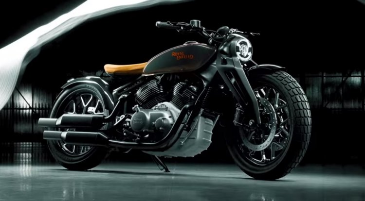 Royal Enfield Concept Kx Bobber V Twin Right Side