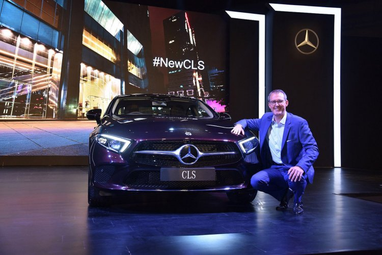 2018 Mercedes Cls India Launch Front 2