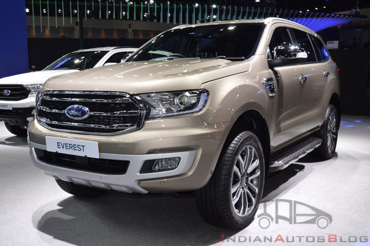 2019 Ford Everest Facelift 2018 Thailand Motor Exp