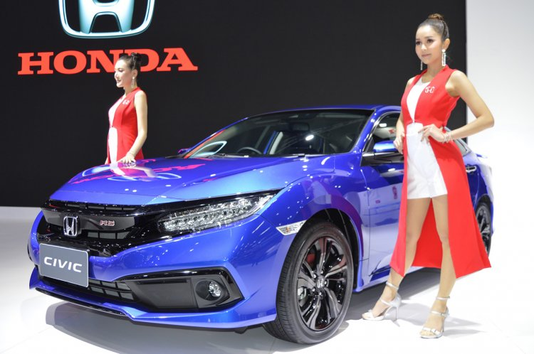 2019 Honda Civic At 2018 Thai Motor Expo Images Fr