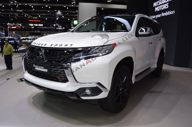 Mitsubishi Pajero Sport Elite Edition Images Thai