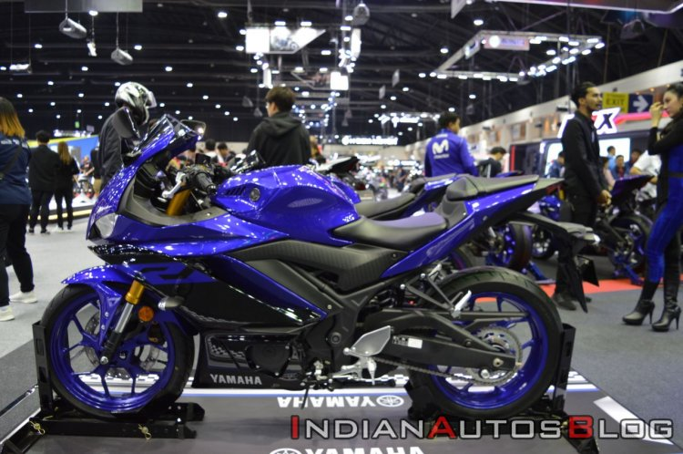 2019 Yamaha Yzf R3 At Thai Motor Show Left Side