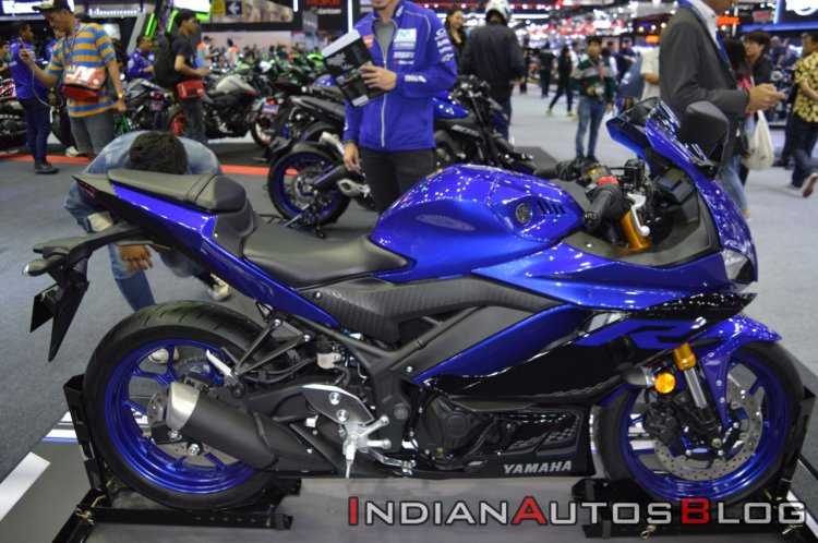 2019 Yamaha Yzf R3 At Thai Motor Show Right Side