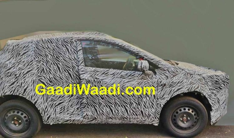 Tata Hornbill X445 Spy Image Side Profile