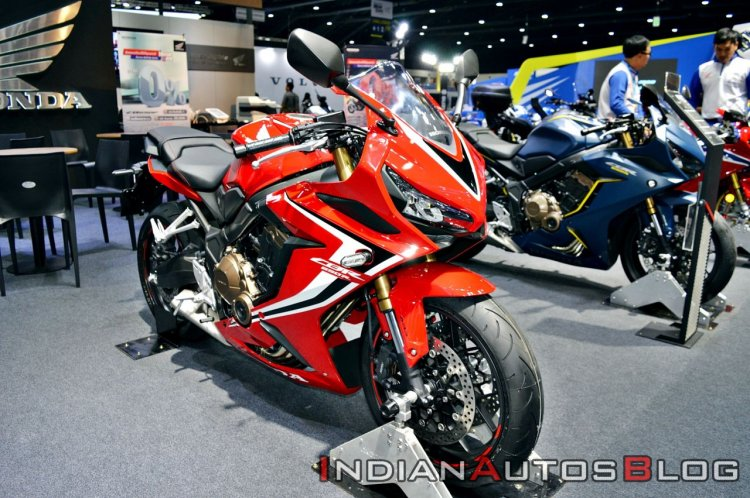 2019 Honda Cbr650r Red Thai Motor Expo Front Right