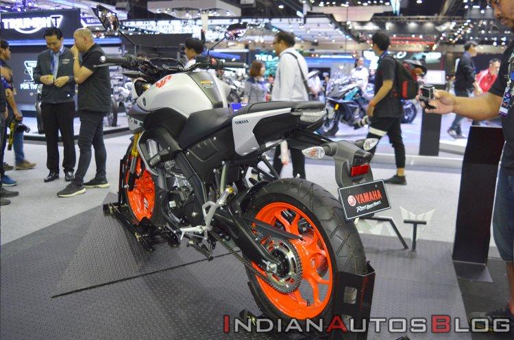 2019 Yamaha Mt 15 Rear Left Quarter Thai Motor Exp