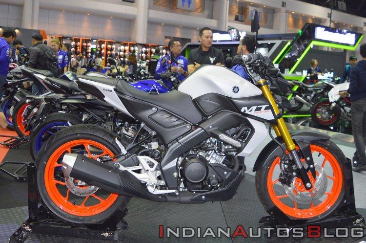 2019 Yamaha MT-15 Side Profile Thai Motor Expo 201