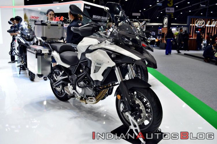 Benelli Trk 502 Thai Motor Expo Front Left Quarter