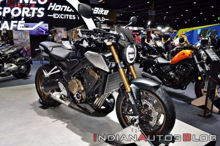Honda Cb650r With Accessories Thai Expo Front Righ