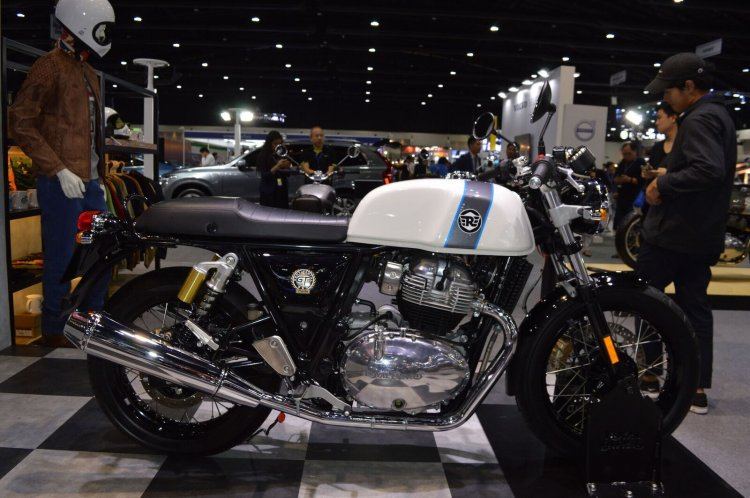 Royal Enfield Continental Gt 650 Side Profile Thai