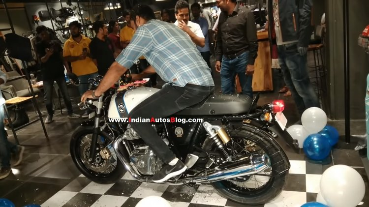 Royal Enfield Continental Gt 650 Delivered In Indi