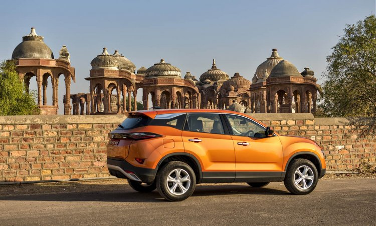 Tata Harrier Media Drive Jodhpur Side Profile