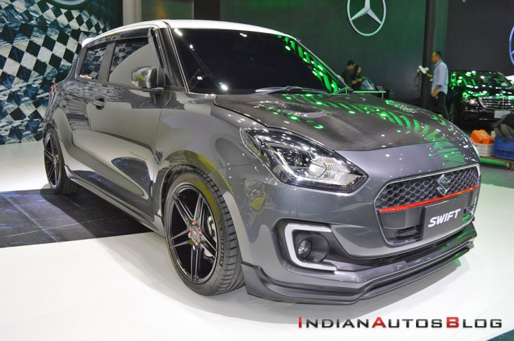 Custom Suzuki Swift 2018 Thai Motor Expo Images