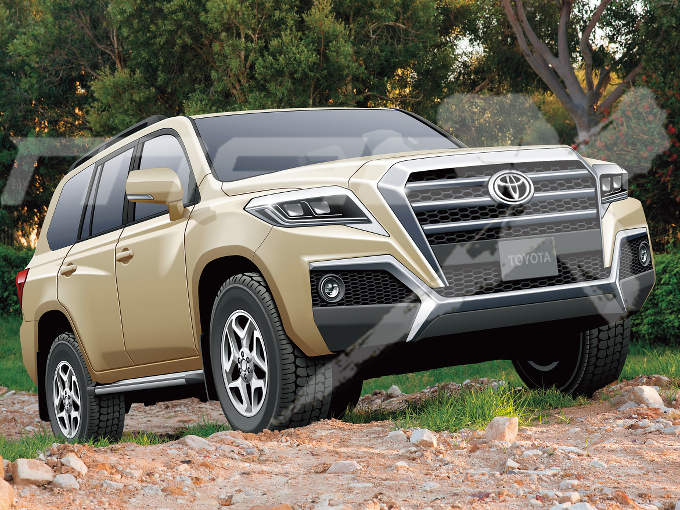 2020 Toyota Land Cruiser Front Three Quarters Rend