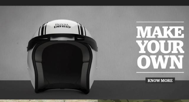 Royal Enfield Online Gear Personalisation