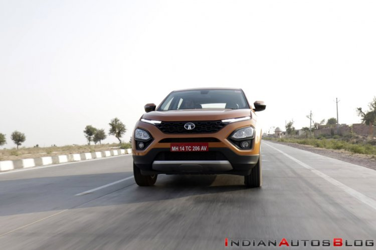 Tata Harrier Test Drive Review Front