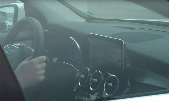 2019 Mercedes Glc Facelift Interior Spy Shot