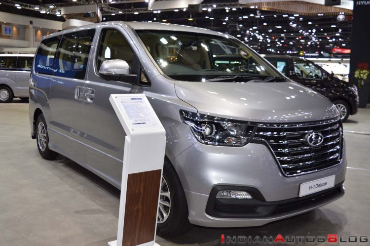 2018 Hyundai H-1 Deluxe Thai Motor Expo 2018 Images Fro