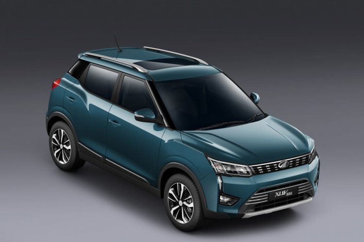 Mahindra Xuv300 Images Front Three Quarters 2