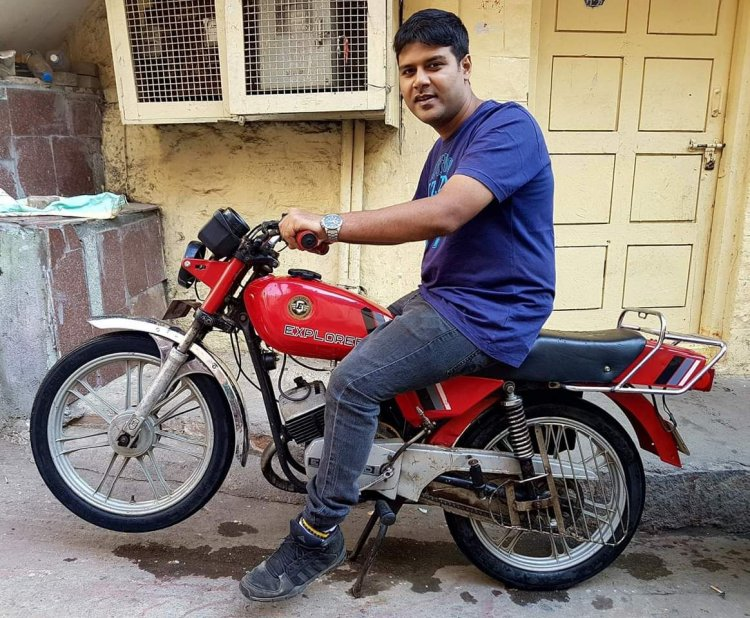 50cc Royal Enfield Explorer By Vishal Agarwal Left