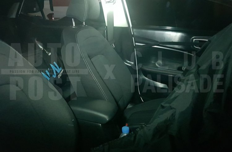 Hyundai Styx Qxi Interior Spy Images Front Seats 1