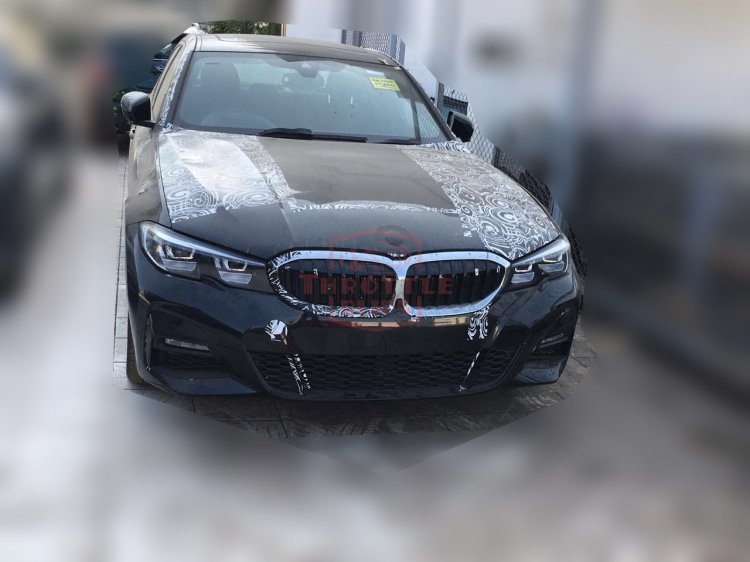 2019 Bmw 3 Series Front Spy Shot India