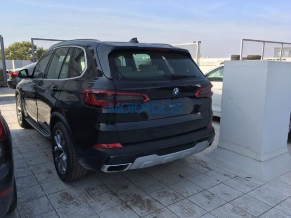 2019 Bmw X5 Rear Three Quarters Spy Shot India