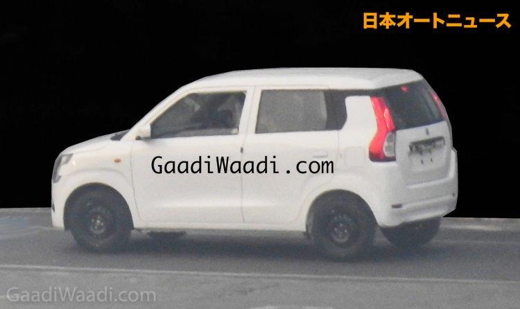 2019 Maruti Wagon R Exterior Leaked Image