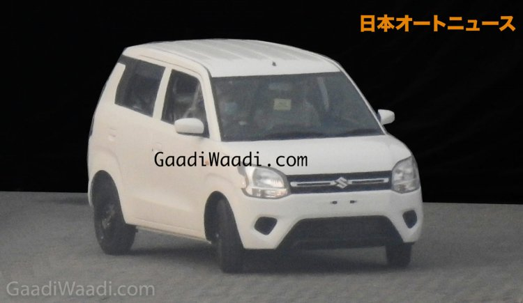 2019 Maruti Wagon R Front Three Quarters Leaked Im