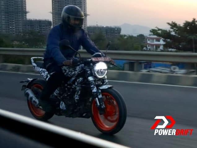 Husqvarna Vitpilen 401 Spied In India Front Right