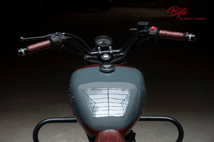 Customised Royal Enfield Bijli By Eimor Customs Co