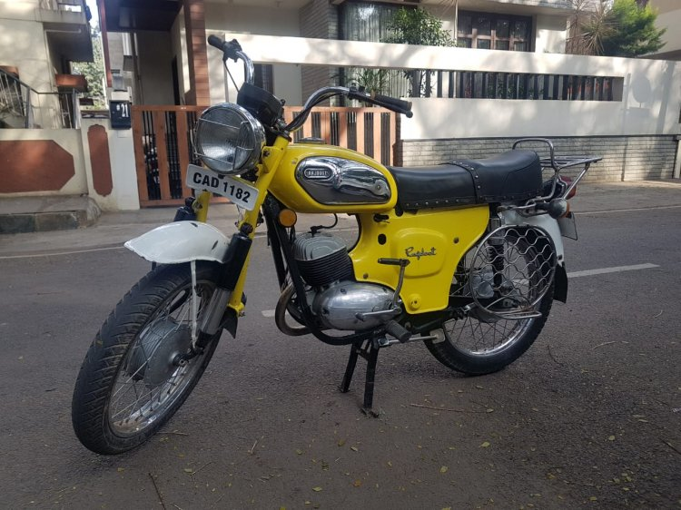 Restored Rajdoot Deluxe 175 By Vishal Agarwal Left