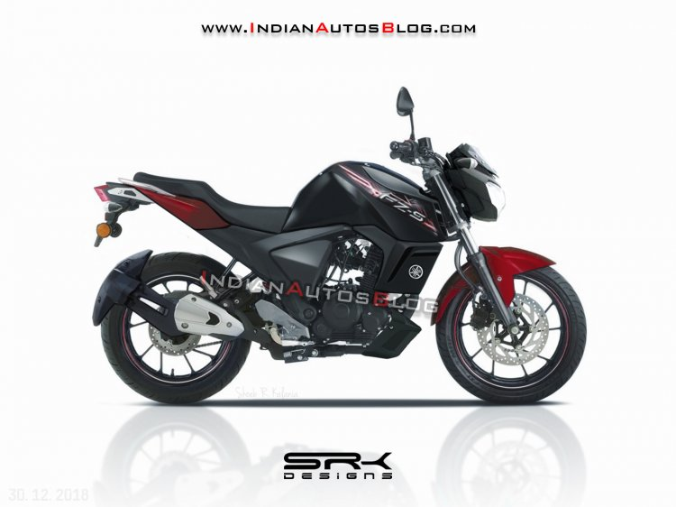Yamaha Fz S V3 0 Rendering Side Profile